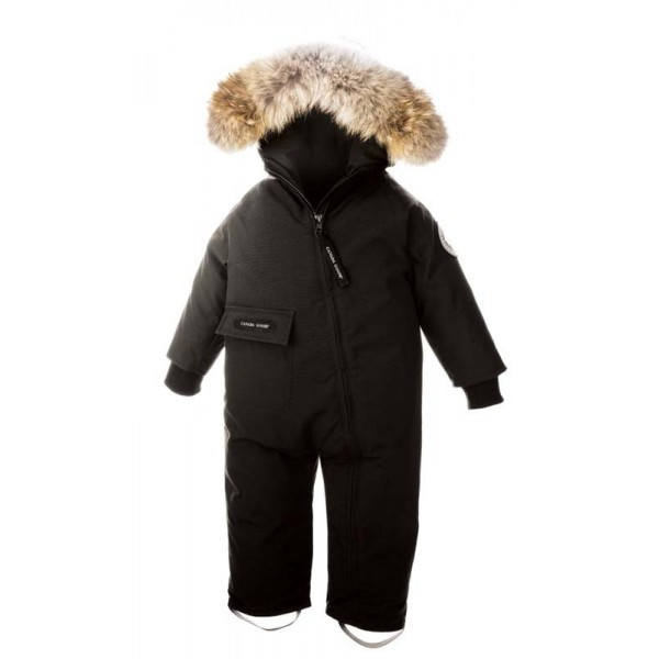 dbfed089d nya Canada Goose baby Snowsuit barn och ungdom Black